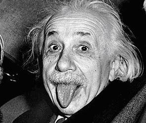 История самого знаменитого фото Эйнштейна